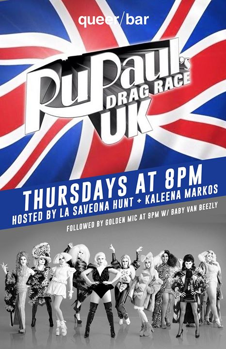Drag Race UK Viewing Party in Seattle le Thu, November 14, 2019 from 08:00 pm to 09:00 pm (After-Work Gay)