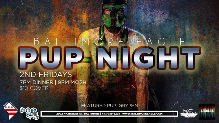 Baltimore Pup Night in Baltimore le Fri, October 11, 2019 from 07:00 pm to 02:00 am (Clubbing Gay)