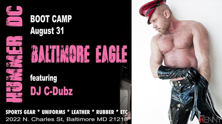 Hummer in Baltimore BOOT CAMP in Baltimore le Sat, August 31, 2019 from 09:00 pm to 02:00 am (Clubbing Gay)