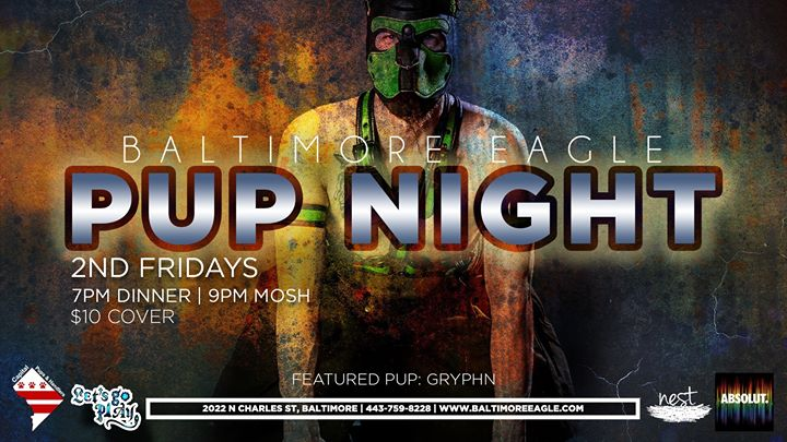 Baltimore Pup Night in Baltimore le Fri, November  8, 2019 from 09:00 pm to 01:45 am (Clubbing Gay)