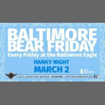"Baltimore Bear Friday Hanky Night ""See ya, suckers!"" Light Blue in Baltimore le Fri, March  2, 2018 from 05:00 pm to 02:00 am (Clubbing Gay)"