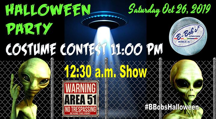 Halloween Party and Costume Contest at B-Bob's! a Mobile le sab 26 ottobre 2019 22:30-02:00 (Clubbing Gay)