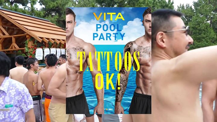VITA Pool Party 2019 in Tokyo le Sun, July 14, 2019 from 03:30 pm to 09:00 pm (Clubbing Gay, Lesbian, Trans, Bi)