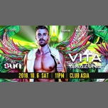 VITA Amazonia (3-Year Anniversary Party) in Tokyo le Sat, October  6, 2018 from 11:00 pm to 10:00 am (Clubbing Gay, Lesbian, Trans, Bi)