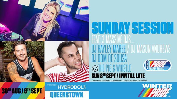 Sunday Session en Queenstown le dom  8 de septiembre de 2019 13:00-22:00 (Festival Gay, Lesbiana)