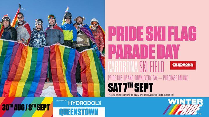 Winter Pride '19 Pride Ski Flag Parade Day en Wanaka le sáb  7 de septiembre de 2019 09:00-16:00 (Festival Gay, Lesbiana)