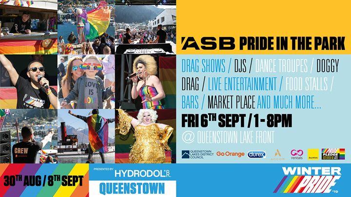 ASB Pride in the Park en Queenstown le vie  6 de septiembre de 2019 13:00-20:00 (Festival Gay, Lesbiana)