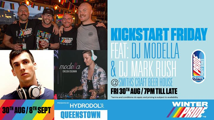 Kickstart Friday in Queenstown le Fr 30. August, 2019 19.00 bis 01.00 (After-Work Gay, Lesbierin)