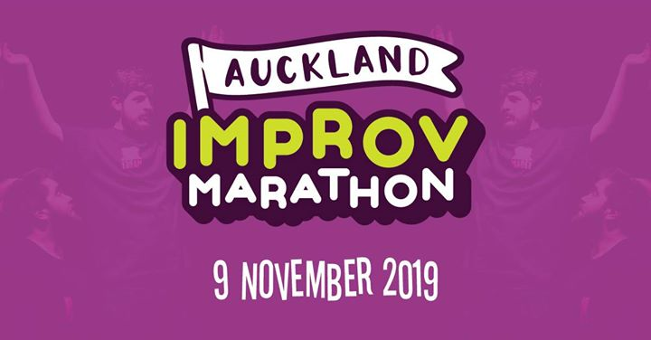 2019 Auckland Improv Marathon à Auckland le sam.  9 novembre 2019 de 15h00 à 23h00 (Spectacle Gay Friendly, Lesbienne Friendly)