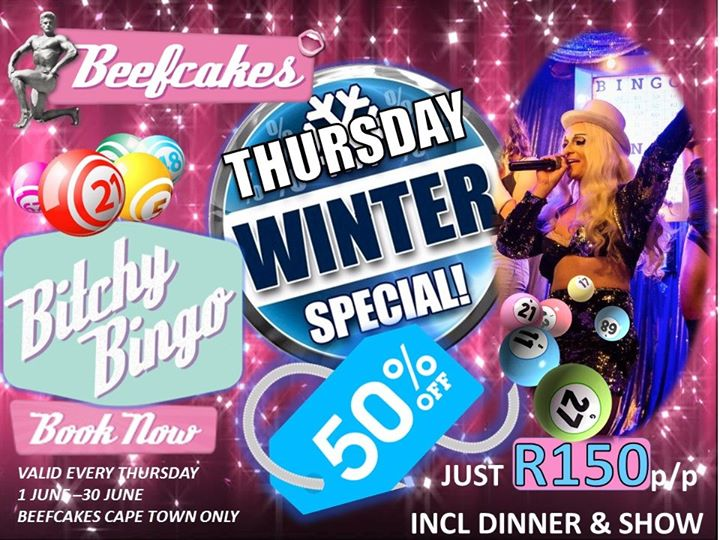 Winter Special à Le Cap le jeu.  1 août 2019 de 19h00 à 22h00 (After-Work Gay Friendly)