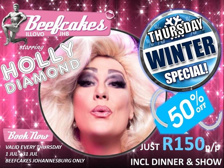 Winter Special Thursdays à Johannesburg le jeu. 25 juillet 2019 de 19h00 à 22h00 (After-Work Gay Friendly)