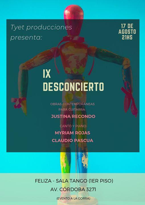 IX Desconcierto a Buenos Aires le sab 17 agosto 2019 alle 21:00 (After-work Gay)