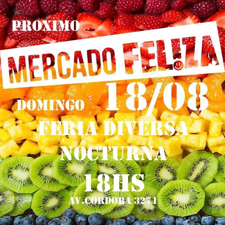 Mercado Fel!za ! Feria Diversx Diurna y Nocturna a Buenos Aires le dom 18 agosto 2019 18:00-01:00 (After-work Gay)