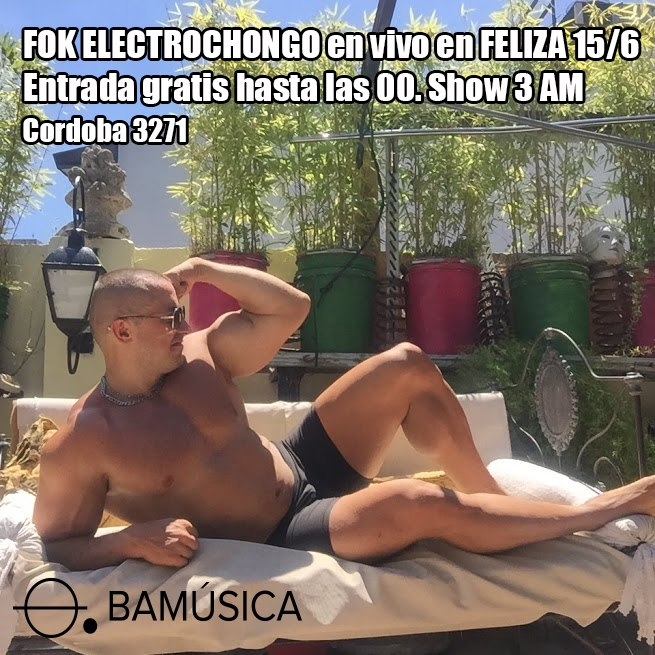 Fok Electrochongo en Feliza in Buenos-Aires le Sat, June 15, 2019 from 11:00 pm to 07:00 am (Festival Gay)