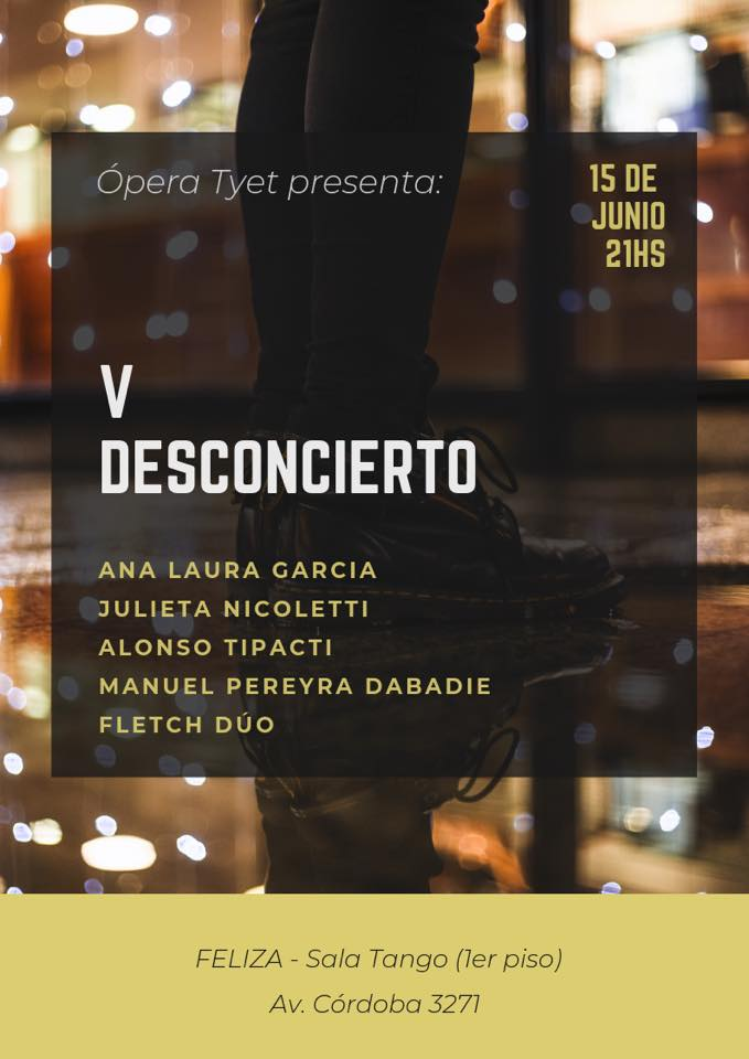 V Desconcierto in Buenos-Aires le Sat, June 15, 2019 at 09:00 pm (Festival Gay)