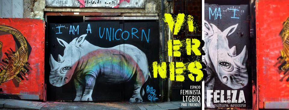 布宜诺斯艾利斯Viernes Unicornix ♡ Noches Queer ♡ Familia LGTBiq+2019年 7月30日,19:00(男同性恋 见面会/辩论)