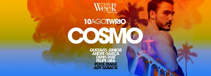 Cosmo Rio de Janeiro in Rio de Janeiro le Sat, August 10, 2019 from 11:59 pm to 09:59 am (Clubbing Gay, Lesbian)