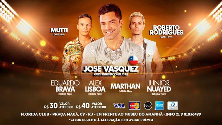 Flórida Club 24 Horas **Conexão Internacional** - 19 De Maio in Rio de Janeiro le So 19. Mai, 2019 08.00 bis 08.00 (Clubbing Gay)