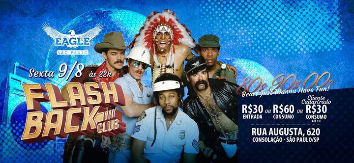 Flashback Club Sex 09/08 as 22h in São Paulo le Fri, August  9, 2019 from 10:00 pm to 06:00 am (Clubbing Gay)