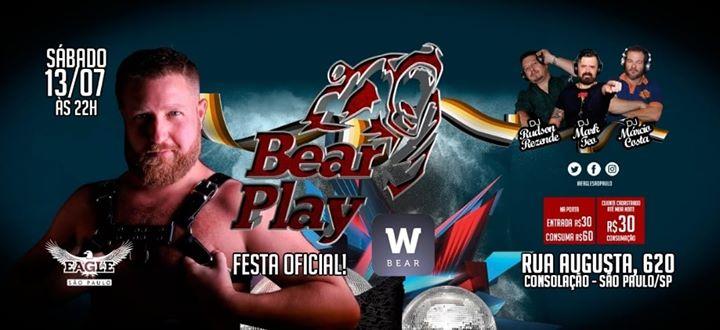 BEARPLAY Sáb 13/07 às 22h a São Paulo le sab 13 luglio 2019 22:00-06:00 (Clubbing Gay)