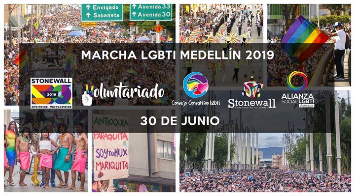 Marcha LGBTI Medellín 2019 à Medellín le dim. 30 juin 2019 de 10h00 à 08h00 (Festival Gay, Lesbienne, Trans, Bi)