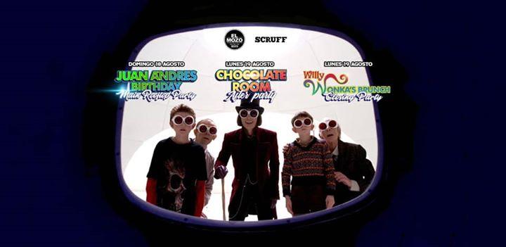 BogotáThe Willy Wonka experience / Juan Andres Birthday Marathon Party2019年12月19日,12:00(男同性恋 俱乐部/夜总会)