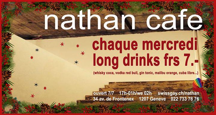 Les mercredis du Nathan Café Genève a Ginevra le mer 12 febbraio 2020 17:00-01:00 (After-work Gay)