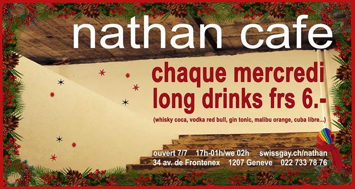 Les mercredis du Nathan Café Genève en Ginebra le mié  4 de diciembre de 2019 17:00-01:00 (After-Work Gay)
