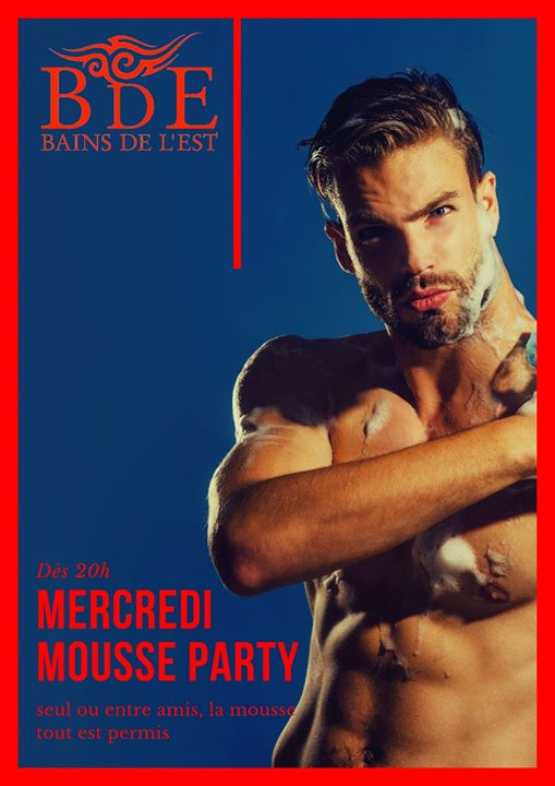 Mousse party en Ginebra le mié 24 de julio de 2019 12:00-01:00 (Sexo Gay)