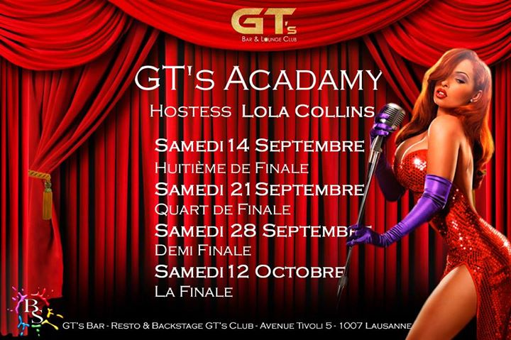 La Finale GT's Academy in Lausanne le Sat, October 12, 2019 from 10:00 pm to 02:00 am (Clubbing Gay, Lesbian, Hetero Friendly)