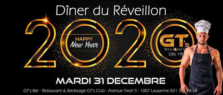 洛桑Diner du Réveillon 31.12.20192019年 7月31日,19:00(男同性恋, 女同性恋, 异性恋友好 下班后的活动)