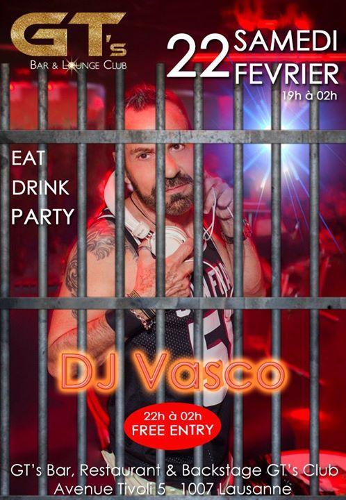 洛桑Descente en Enfer by DJ Vasco2020年 7月22日,19:00(男同性恋, 女同性恋, 异性恋友好 下班后的活动)