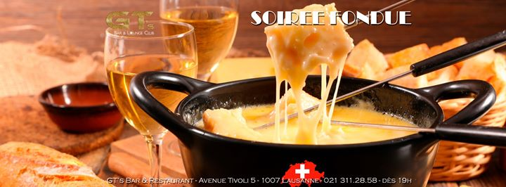 Soirée Fondue in Lausanne le Thu, March 26, 2020 from 07:00 pm to 01:00 am (After-Work Gay, Lesbian, Hetero Friendly)