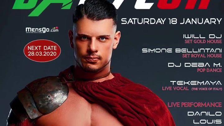 洛桑Babylon - Crazy Italian Night2020年11月18日,23:00(男同性恋, 女同性恋, 异性恋友好 俱乐部/夜总会)