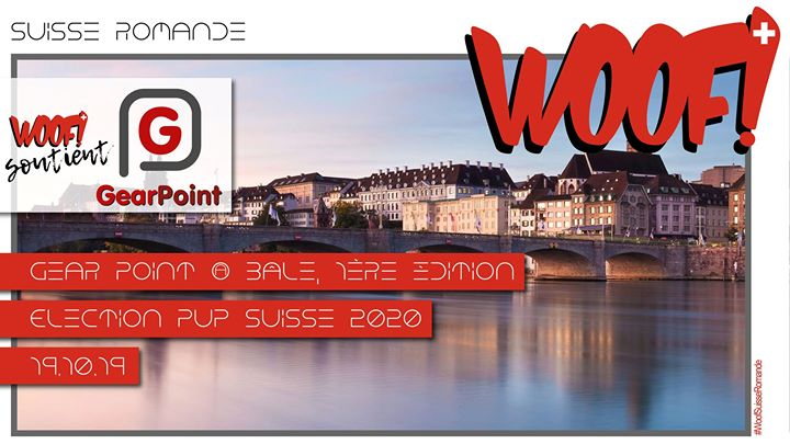 Woof! > Gear Point & Election Pup CH 2020 a Bâle le sab 19 ottobre 2019 12:00-02:00 (Festival Gay)