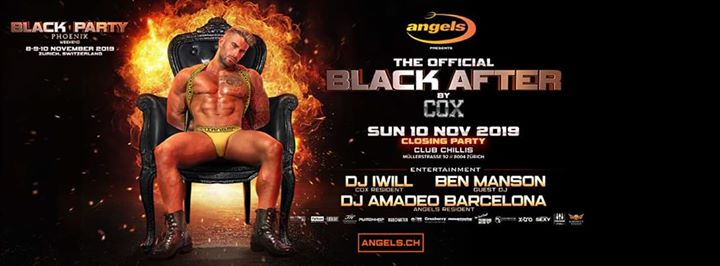 Black Official After Hour By COX Milan/@ChillisClub em Zurique le dom, 10 novembro 2019 06:00-13:00 (After Gay)