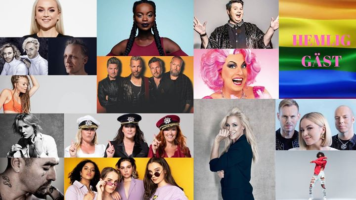 Schlagerkvällen på Stockholm Pride à Stockholm le jeu.  1 août 2019 de 20h00 à 22h00 (Festival Gay, Lesbienne)
