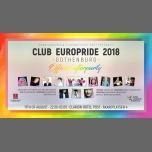 哥德堡Club EuroPride 2018 Gothenburg2018年10月17日,22:00(男同性恋, 女同性恋 俱乐部/夜总会)