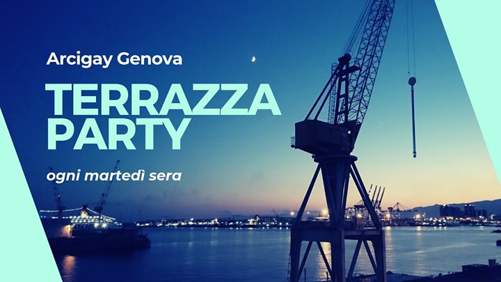 Terrazza Party con Arcigay en Gênes le mar 23 de julio de 2019 20:30-23:30 (After-Work Gay, Lesbiana)