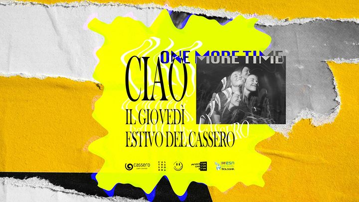 CIAO! il Giovedì estivo • Cassero • Free Entry in Bologna le Thu, September 26, 2019 from 07:00 pm to 04:30 am (Clubbing Gay, Lesbian, Hetero Friendly, Bear)