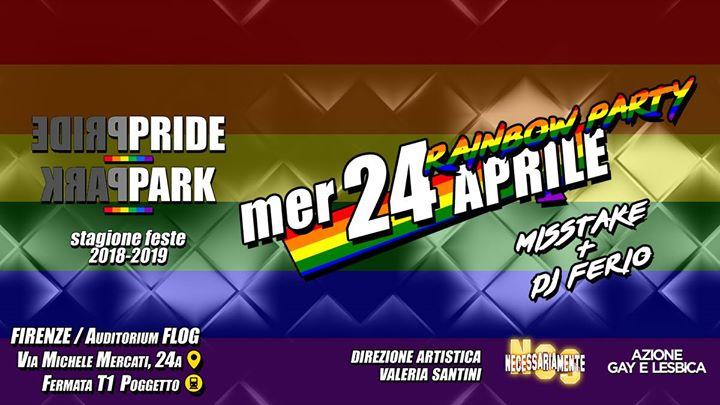 RainbowParty@FlogNCSPridePark en Florencia le mié 24 de abril de 2019 23:00-04:00 (Clubbing Gay)