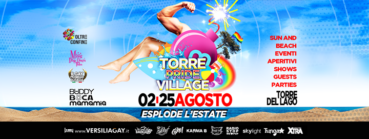 Il Sabato Mamamia! in Torre del Lago Puccini le Sat, August 10, 2019 from 11:00 pm to 04:00 am (Clubbing Gay)