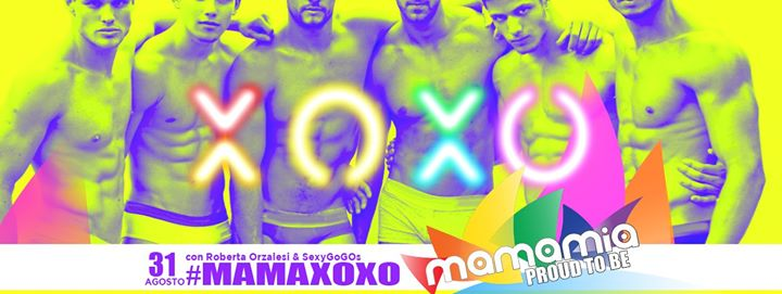Il Sabato Mamamia! in Torre del Lago Puccini le Sat, August 31, 2019 from 11:00 pm to 04:00 am (Clubbing Gay)