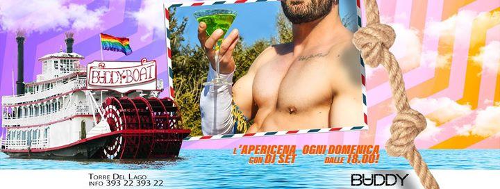 BaddyBoat l'Apericena della domenica! in Torre del Lago Puccini le Sun, July 28, 2019 from 06:00 pm to 09:00 pm (After-Work Gay)