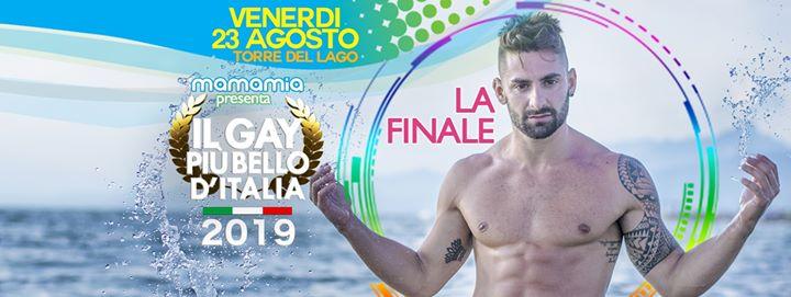 Il gay più bello d'Italia - La Finale! à Torre del Lago Puccini le ven. 23 août 2019 de 22h00 à 01h30 (After-Work Gay)