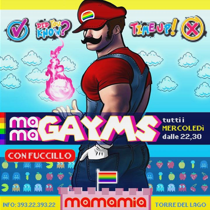 Il Mercoledì Mamamia è #gayms in Torre del Lago Puccini le Wed, July 24, 2019 from 10:00 pm to 03:00 am (Clubbing Gay)