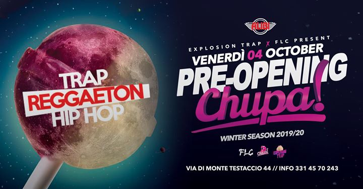 Pre Opening Winter Season - Chupa - Alibi Club Rome in Rome le Fri, October  4, 2019 from 11:00 pm to 05:00 am (Clubbing Gay Friendly)