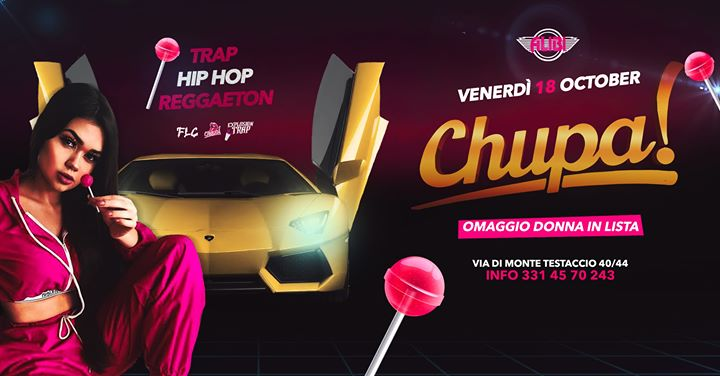 Chupa - Alibi Club Rome in Rome le Fri, October 18, 2019 from 11:00 pm to 05:00 am (Clubbing Gay Friendly)