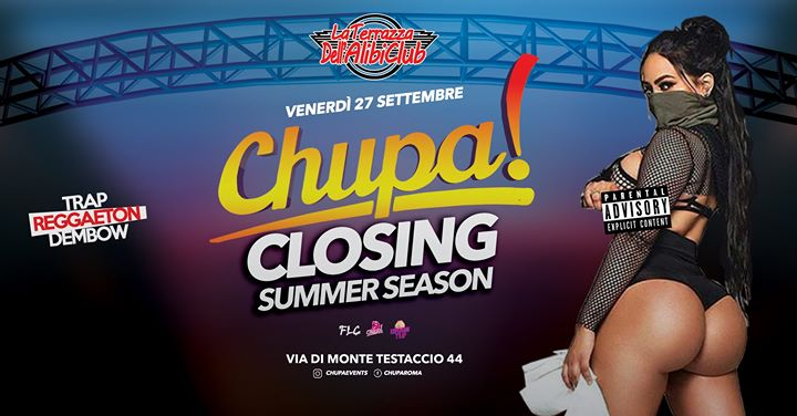 Closing Summer Season • La Terrazza Alibi • Roma • Ogni Venerdì em Roma le sex, 27 setembro 2019 23:00-05:00 (Clubbing Gay Friendly)