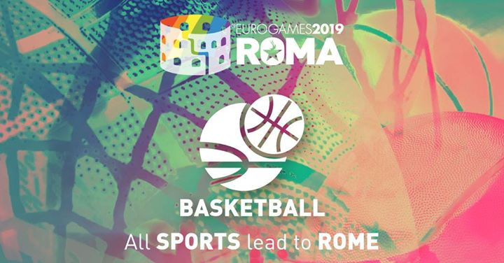 Roma Eurogames 2019 - Basketball Tournament in Rome le Fri, July 12, 2019 from 09:00 am to 09:00 pm (Sport Gay, Lesbian, Trans, Bi)